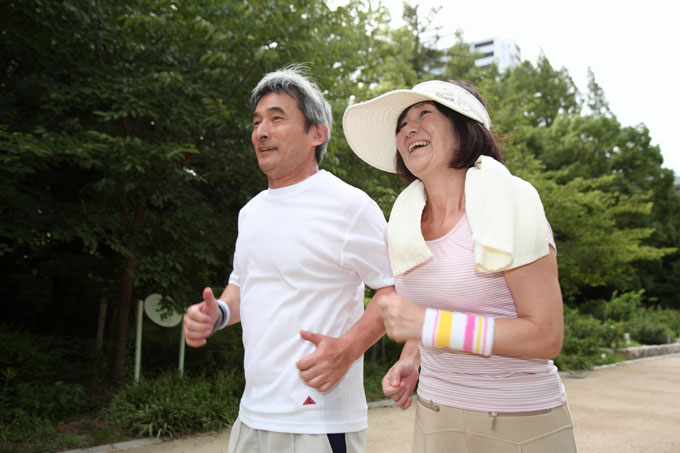 夫婦 ジョギング